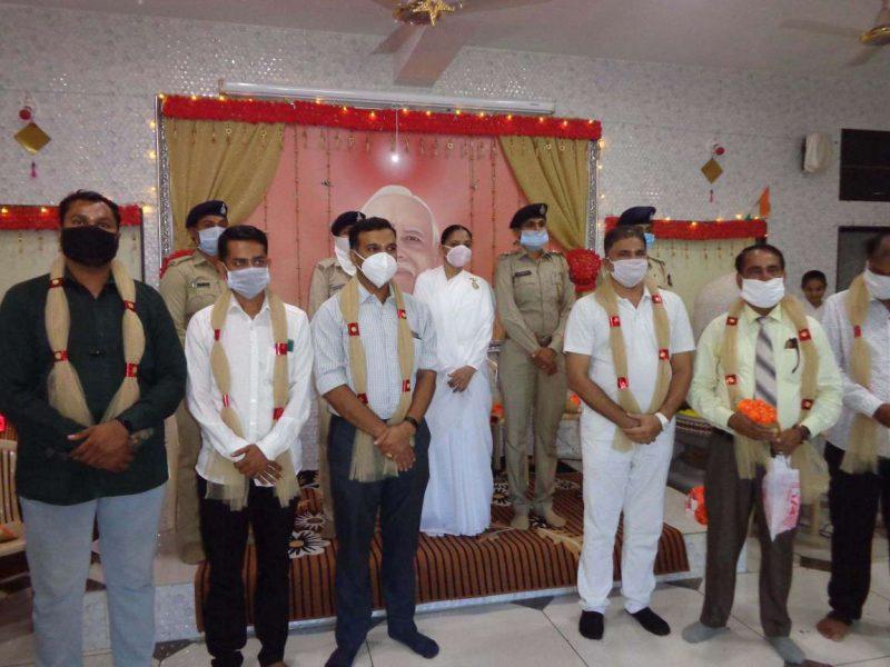 Rajkot : Felication of Women Police Officers & Doctors-कोरोना वॉरियर्स महिला पुलिस स्टाफ और डॉक्टर्स सम्मान