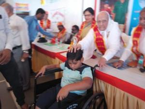 Narayan seva_Disable people 2